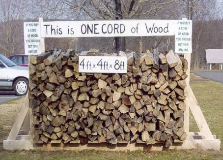 Photo Credit Http Www Cordofwood Org How Much Wood Is In A Cord
