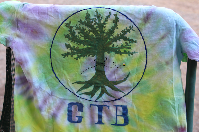GTB Uniform Tshirt Tie Dye Hand Made